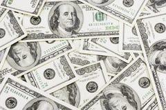 Dollari di priorità bassa Immagine Stock