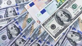 Dollari di priorità bassa Immagini Stock Libere da Diritti