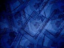 Dollari di priorità bassa Fotografia Stock Libera da Diritti