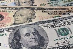 Dollari di priorità bassa Immagine Stock Libera da Diritti