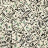 Dollari di priorità bassa senza giunte. Fotografie Stock Libere da Diritti