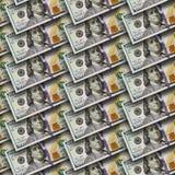 Dollari di priorità bassa senza giunte Fotografia Stock
