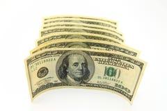 Dollari di soldi Fotografia Stock Libera da Diritti