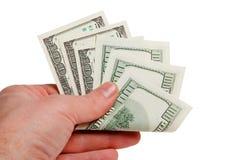 Dollari $ di U.S.A. Fotografie Stock Libere da Diritti