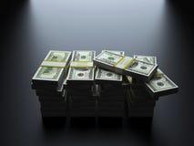 Dollari di U.S.A. Fotografia Stock Libera da Diritti