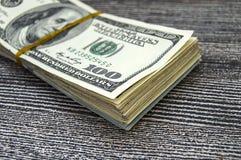 Dollari di U.S.A., U.S.A. $ 100, vecchie e nuove 100 immagini del dollaro, grandi immagini del dollaro nei concetti differenti pe Immagini Stock