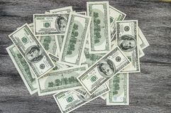 Dollari di U.S.A., U.S.A. $ 100, vecchie e nuove 100 immagini del dollaro, grandi immagini del dollaro nei concetti differenti pe Immagini Stock Libere da Diritti