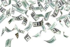 Dollari di volo Immagine Stock