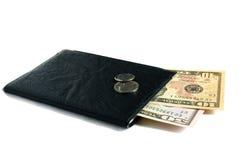 Dollari e documenti di Stati Uniti Fotografia Stock Libera da Diritti
