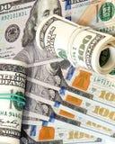 Dollari, fondo Fotografia Stock