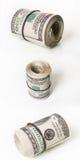 Dollari rotolati Fotografie Stock Libere da Diritti