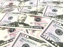 Dollari, soldi, contanti Fotografia Stock Libera da Diritti