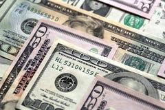 Dollari US Fotografie Stock Libere da Diritti