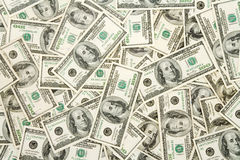 Dollari US Fotografia Stock
