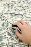 Dollari US Fotografie Stock