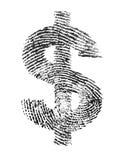 Dollaridentitet royaltyfri fotografi