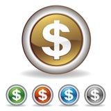 Dollarikone Stockbilder