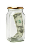 dollarlast Arkivfoto