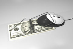 Dollarmäusefalle Stockbild