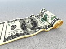 Dollarmatta royaltyfri fotografi