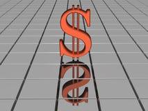 Dollaro Fotografia Stock Libera da Diritti