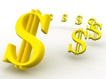 Dollaro. Fotografia Stock