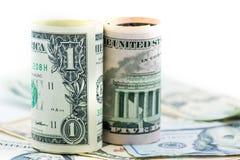 Dollaro americano Fotografie Stock