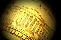 Dollaro americano Fotografie Stock Libere da Diritti
