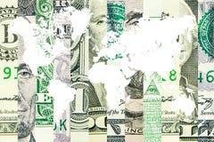 Dollaro americano come la valuta di riserva del mondo Fotografia Stock