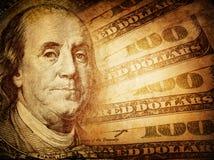 Dollaro americano d'annata Immagine Stock Libera da Diritti