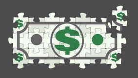 Dollaro Bill imbarazzato illustrazione vettoriale