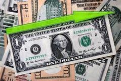 Dollaro crescente Fotografia Stock Libera da Diritti