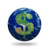 Dollaro della terra Fotografia Stock Libera da Diritti