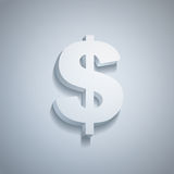Dollaro di carta Fotografia Stock