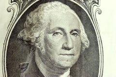 Dollaro George Washington Fotografie Stock Libere da Diritti