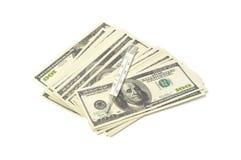 Dollaro malato Fotografia Stock Libera da Diritti