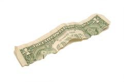Dollaro mezzo Immagine Stock