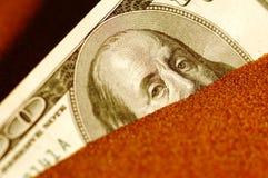 Dollaro nella difficoltà Fotografie Stock