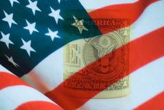 Dollaro statunitense Fotografie Stock