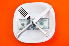 Dollaro sulla zolla Immagini Stock