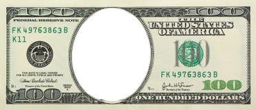 Dollaro vuoto Fotografia Stock