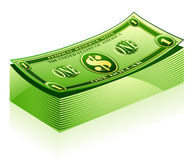 dollarpacke Royaltyfri Fotografi