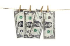 Dollarpapierbedeutung Lizenzfreie Stockfotografie