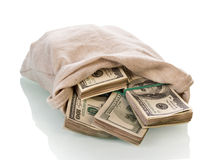 Dollarpengarräkningar Royaltyfria Foton