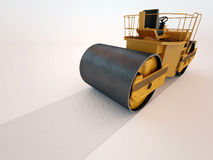 Dollarpresse-Straßenrolle Stockfotografie