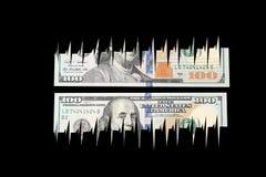 Dollarräkning Arkivfoto