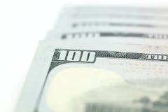 Dollarräkningar Arkivbild