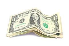 Dollarrechnungen stockbild