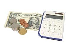 Dollarrechnungen lizenzfreie stockfotos