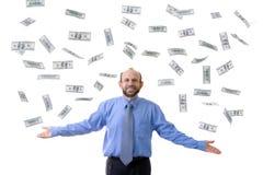 Dollarregen Lizenzfreie Stockbilder